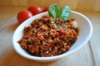 Sun Dried Tomato Almond Pesto